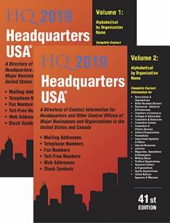 cache 470 320 0 50 92 16777215 HQ19 2v Headquarters USA 2019, 41st Ed.