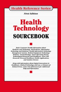 cache 470 320 0 50 92 16777215 Health Technology Cover Health Technology Sourcebook, 1st Ed.