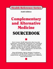 cache 480 240 4 0 80 16777215 CompAlt6 Complementary and Alternative Medicine Sourcebook, 6th Ed.