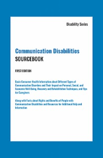 cache 470 320 0 50 92 16777215 Communication Disabilities Sourcebook, First Edition   Marketing Image Communication Disabilities Sourcebook, 1st Edition