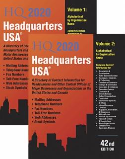 cache 470 320 0 50 92 16777215 HQ2v 2020 Headquarters USA 2020, 42nd Ed.