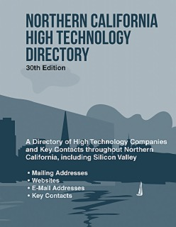 cache 470 320 0 50 92 16777215 NorCal30 Northern California High Technology Directory, 30th Ed.