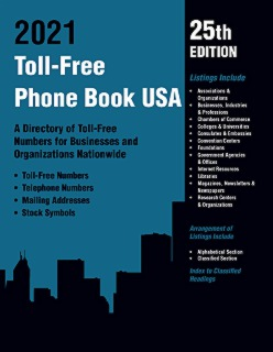 cache 470 320 0 50 92 16777215 TF2021Web Toll Free Phone Book USA 2021, 25th Ed.