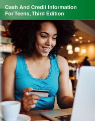 cache 480 240 4 0 80 16777215 Cash And Credit Information Cover Cash and Credit Information for Teens, 3rd Ed.