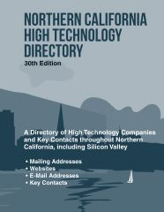 cache 480 240 4 0 80 16777215 NorCal30 Northern California High Technology Directory, 30th Ed.
