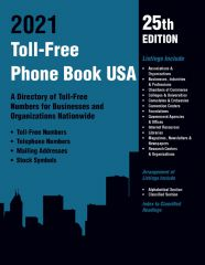 cache 480 240 4 0 80 16777215 TF2021Web Toll Free Phone Book USA 2021, 25th Ed.