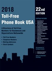 cache 480 240 4 0 80 16777215 Toll Free Cover Toll Free Phone Book USA 2018, 22nd Ed.